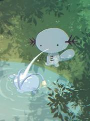 燈籠魚和烏波