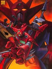 超級機器人漫畫蓋塔機器人篇